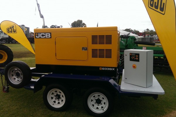 G33QX Trailer Mounted SE Field Days